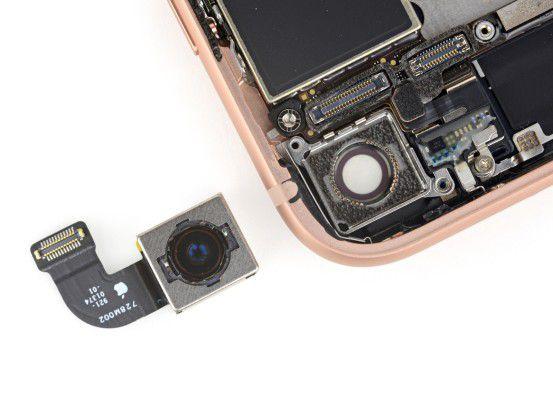 Das iPhone 8 bietet eine verbesserte Kamera.