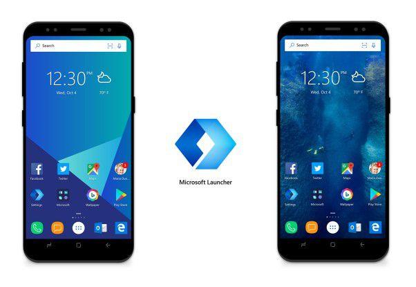 Microsoft Launcher für Android