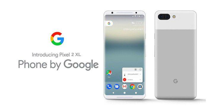 Das Display des Google Pixel 2 XL bietet einigen Käufern Grund zur Kritik.