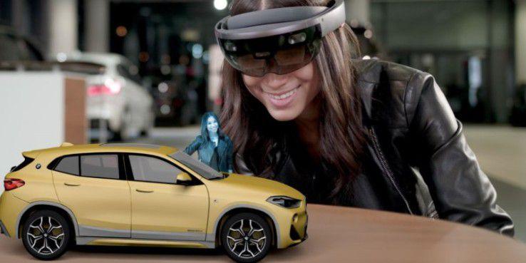 BMW-Kunden können neuen X2 mit der Microsoft Hololens erkunden