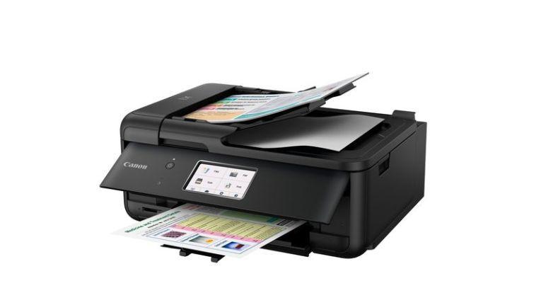 Multifunktionsdrucker mit Alloundfähigkeiten: Canon Pixma TR8550