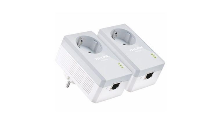 Der TL-PA4010P KIT AV600 Powerline-Netzwerkadapter von TP-Link ist eine günstige Möglichkeit, das ganze Haus mit schnellem Internet zu versorgen.