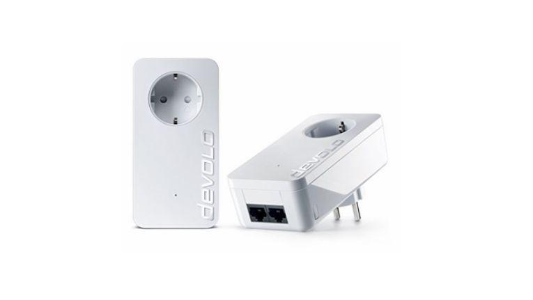 Die range+-Technologie der devolo dLAN 550 duo+ Starter Kit Powerline soll für eine größere Reichweite sorgen.