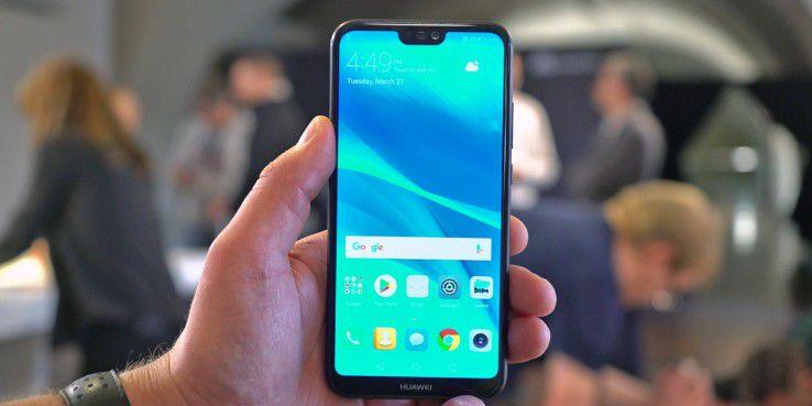 Huawei P20 mit Display-Notch