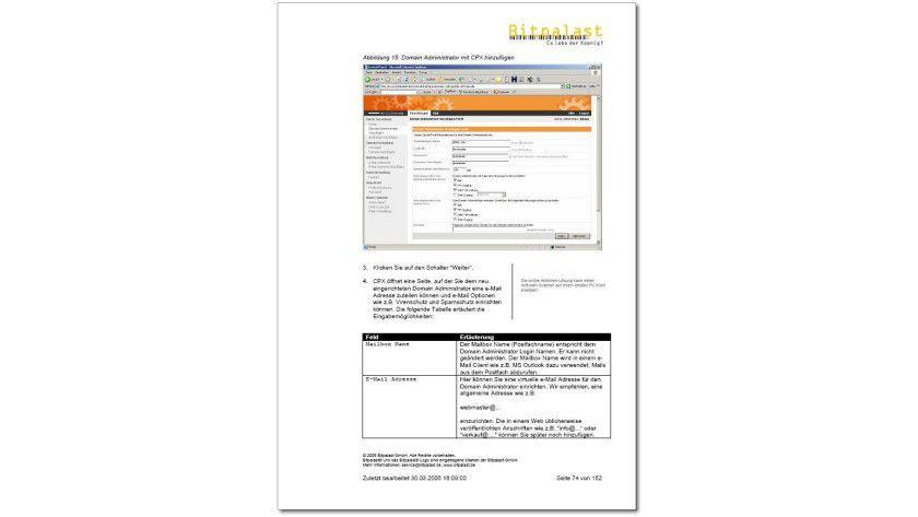 Das Linux-Webserver-Handbuch steht als kostenloser Download bereit. Abb.: Bitpalast