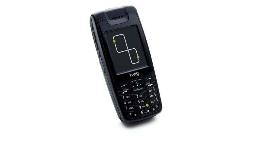 Das Handy 'TWIG Discovery Björn Steiger Edition' verfügt über besondere Ortungsfunktionen. Foto: Benefon