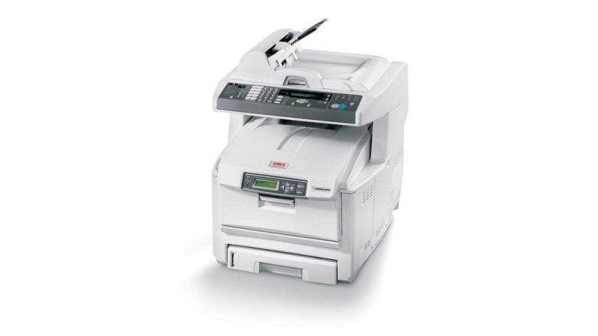 OKI C5550: Bis zu 20 Farbseiten pro Minute soll das Druckwerk des Multifunktionsgerätes produzieren. (Quelle: Oki)