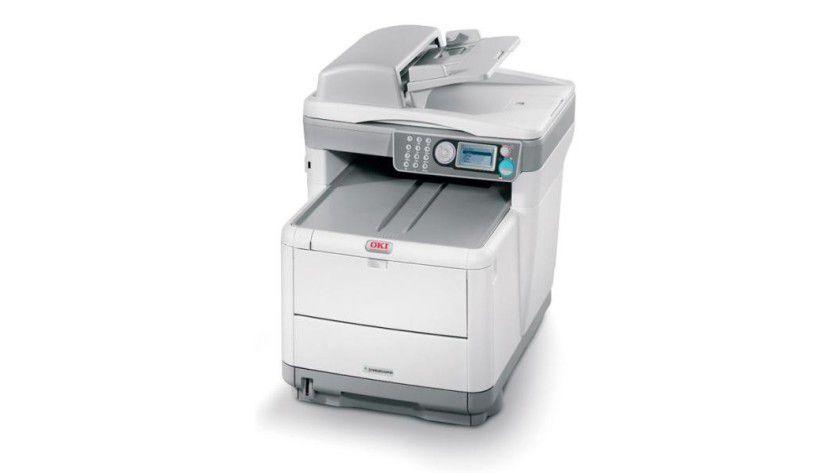 Oki C3500: Das Modell C3530 MFP beherrscht neben Scannen, Kopieren und Drucken auch das Faxen. (Quelle: Oki)