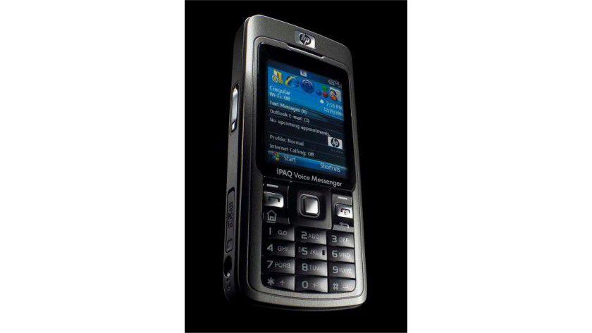 HP iPAQ 514: Das Mobiltelefon liest E-Mails und unterstützt WLAN-Verbindungen sowie Voice over IP. (Quelle. Hewlett Packard)
