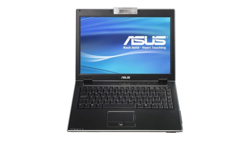 Asus V2Je: Das 14,1-Zoll-Display arbeitet mit einer Auflösung von 1440 x 900 Bildpunkten.