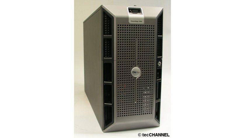Tower-Power: Unter der Haube des Tower-Servers PowerEdge 1900 von Dell arbeiten zwei Xeon-CPUs mit je vier Cores und je 1,86 GHz Taktfrequenz.