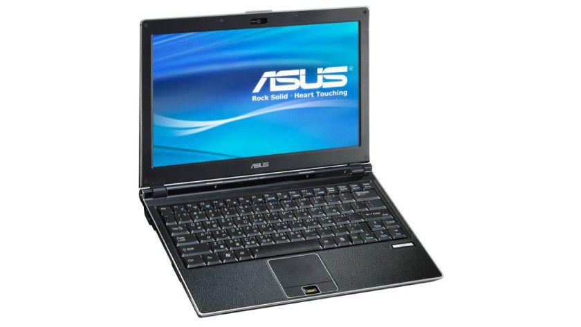 Asus U1F: Das 11,1-Zoll-Display arbeitet mit einer Auflösung von 1360 x 768 Bildpunkten. (Quelle: Asus)