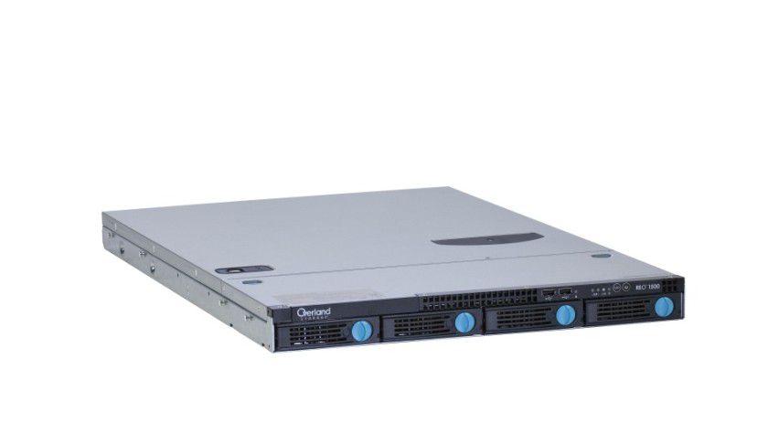 Reo 1500: Die 1 HE große Appliance bietet bis zu 2 TByte Kapazität. (Quelle: Overland)