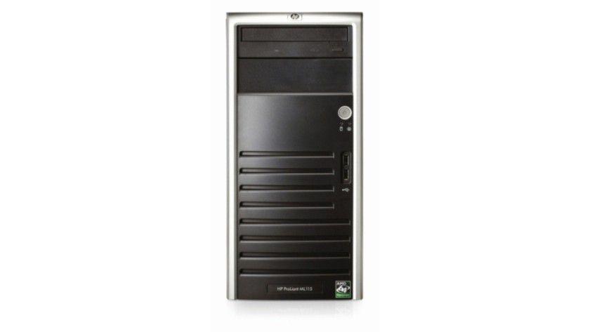 Einsteiger-Modell: Der neue HP-Server ProLiant ML115 ist für kleine und mittlere Unternehmen konzipiert. (Quelle: HP)