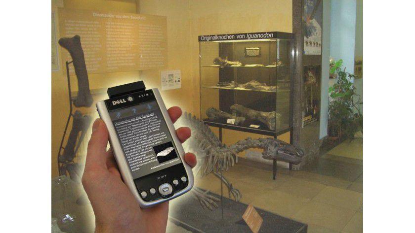Das digitale Informationssystem für Museen wird ab 2008 im neuen Geo-Museum der Universität Münster eingesetzt. Foto: ERCIS