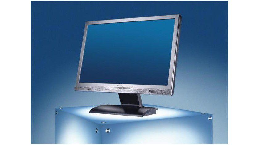 Belinea 2230 S1W: Das 22-Zoll-Display arbeitet mit einer nativen Auflösung von 1680 x 1050 Bildpunkten. (Quelle: Maxdata)
