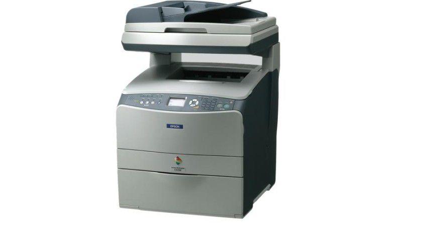 Epson AcuLaser CX21N: Das Multifunktionsgerät basiert auf einem Farblaser-Druckwerk. (Quelle: Epson)