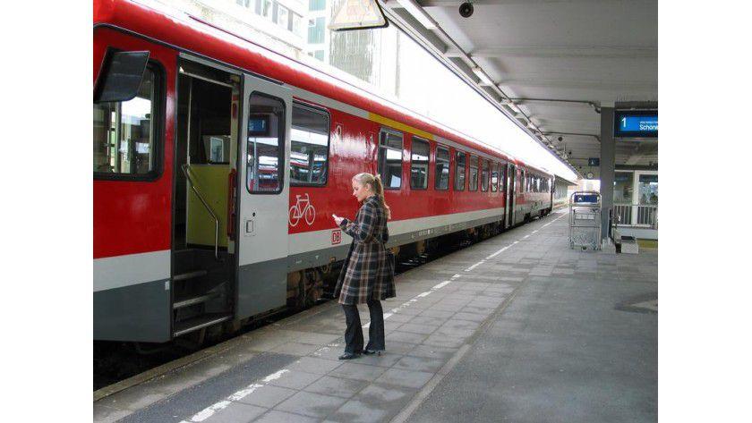 Ring&Ride: Direkt vor der Fahrt wird das Ticket per Handy angefordert. Foto: Institut für Verkehr und Stadtbauwesen, TU Braunschweig