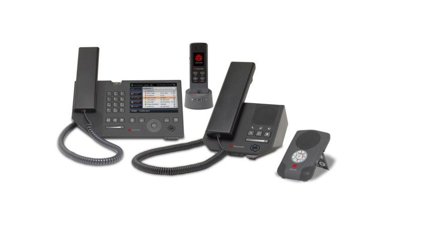 Unified Messaging: Die neue VoIP-Phone-Serie von Polyphone integriert sich in den Office Communications Server.