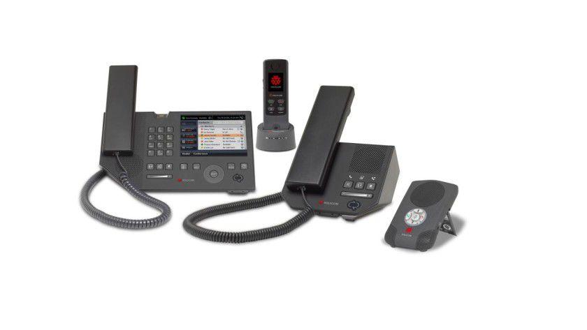 Unified Messaging: Die neue VoIP-Phone-Serie von Polyphone integriert sich in den Office Communications Server.