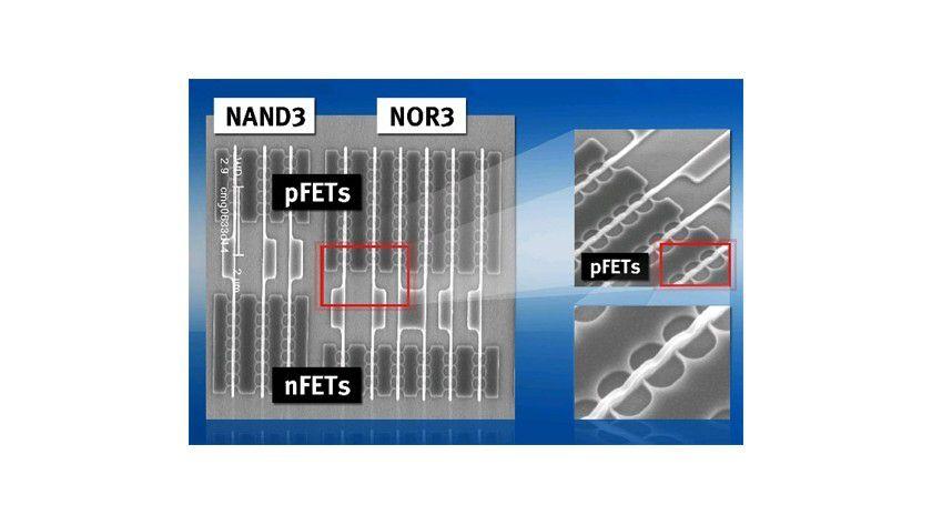 Super-Chip: Infineon hat eine neue Mikrochipbauweise mit deutlich reduziertem Stromverbrauch entwickelt. (Quelle: Infineon)
