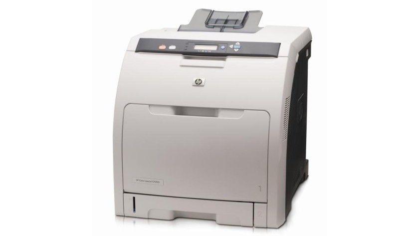 HP Color LaserJet CP3505: Bis zu 21 Farbseiten pro Minute sollen die neuen Farblaser produzieren. (Quelle: Hewlett Packard)