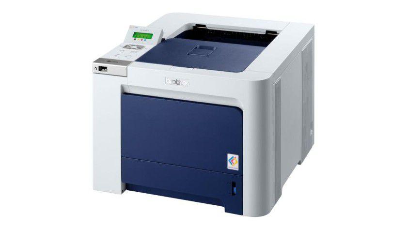 Brother HL-4040: Der Single-Pass-Farblaser basiert auf Brother-eigener Technik und soll bis zu 20 Farbseiten pro Minute produzieren. (Quelle: Brother)