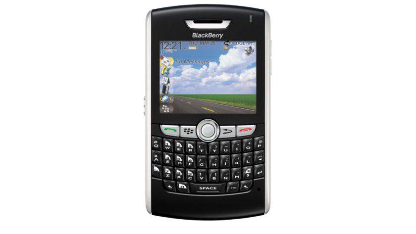 Geschäftstelefon: Der neue BlackBerry 8820 verfügt über GPS, UMA, WLAN sowie die üblichen Push-Mail-Funktionen. (Quelle: RIM)