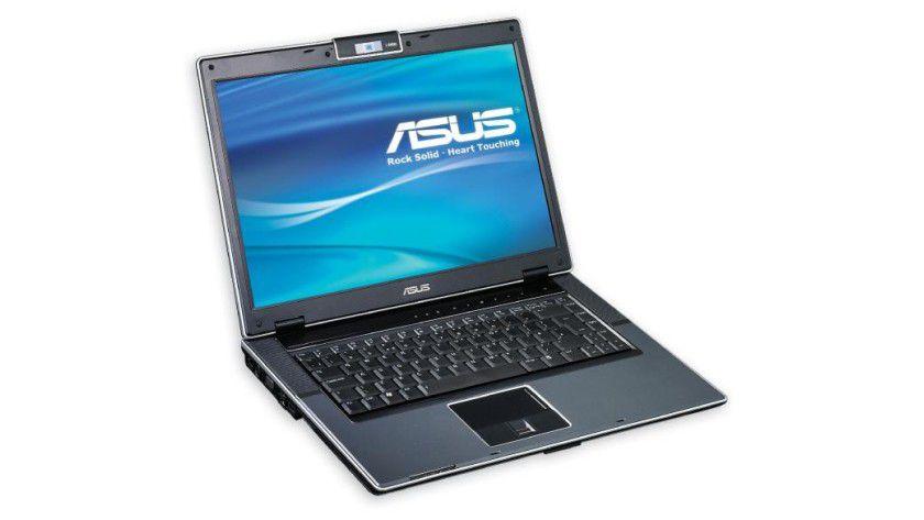 Asus V1S: Das 15,4-Zoll-Display arbeitet mit 1680 x 1050 Bildpunkten. (Quelle: Asus)