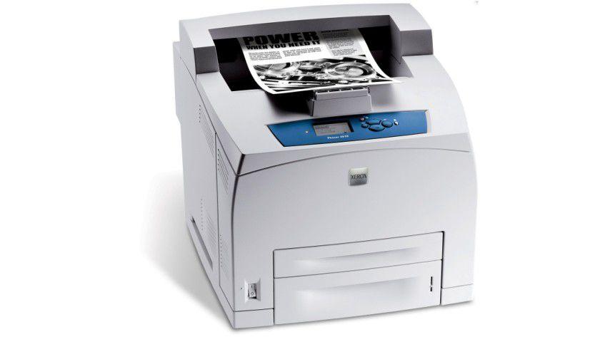 Xerox Phaser 4510: Der Gruppendrucker soll bis zu 43 Seiten pro Minute produzieren. (Quelle: Xerox)