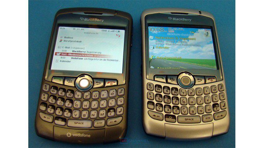 Zwei vom gleichen Schlag: Die Revision des Curve (links) besitzt einen zusätzlichen GPS-Empfänger.