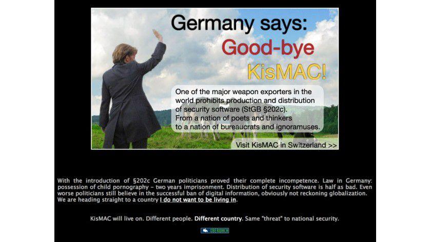 Goodbye Germany: Für Sicherheitssoftware ist kein Platz mehr in Deutschland.