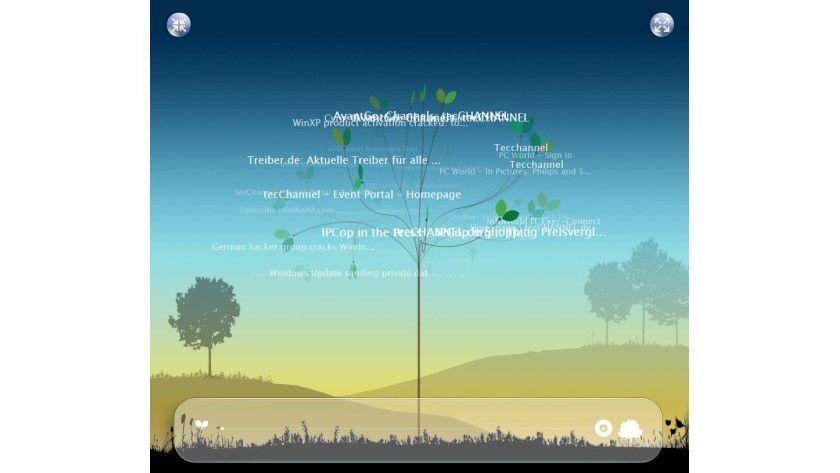 Unübersichtlich: Die Tree-Ansicht sieht nett aus, besitzt aber kaum praktischen Nutzen.