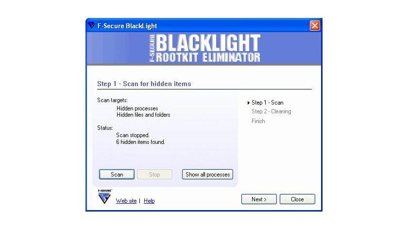 Was ist das?: In der sauberen Testumgebung fanden sich nach der Installation der MicroVault-Fingerprint-Software mehrere versteckte Dateien (Quelle: F-Secure)