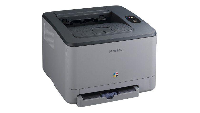 Samsung CLP-350N: Mit serienmäßiger Netzwerkfähigkeit und PCL-Unterstützung für den professionellen Einsatz gedacht. (Quelle: Samsung)