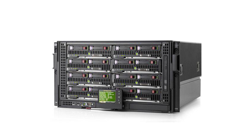 HP-c3000-Blade-Server: Der Blade-Server-Bereich wird laut den IDC-Prognosen weiter wachsen. (Quelle: HP)