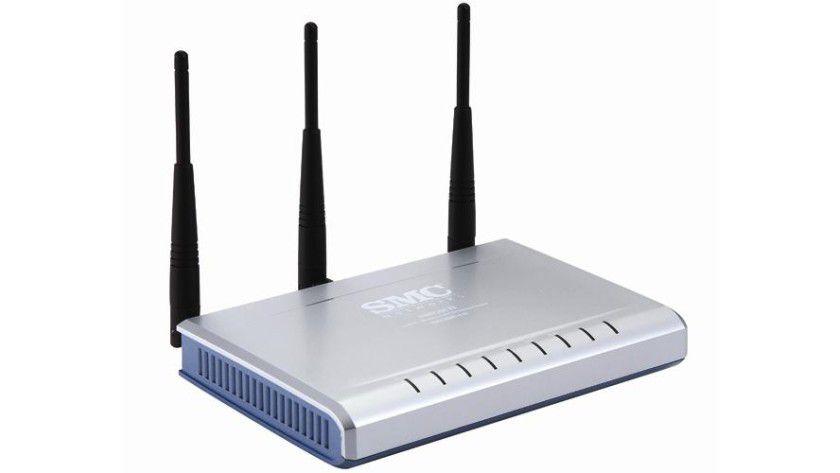 Ähnlichkeiten: Der SMC WBR14-N weist erhebliche Ähnlichkeit mit den Produkten von D-Link, Zyxel und Trendnet auf.