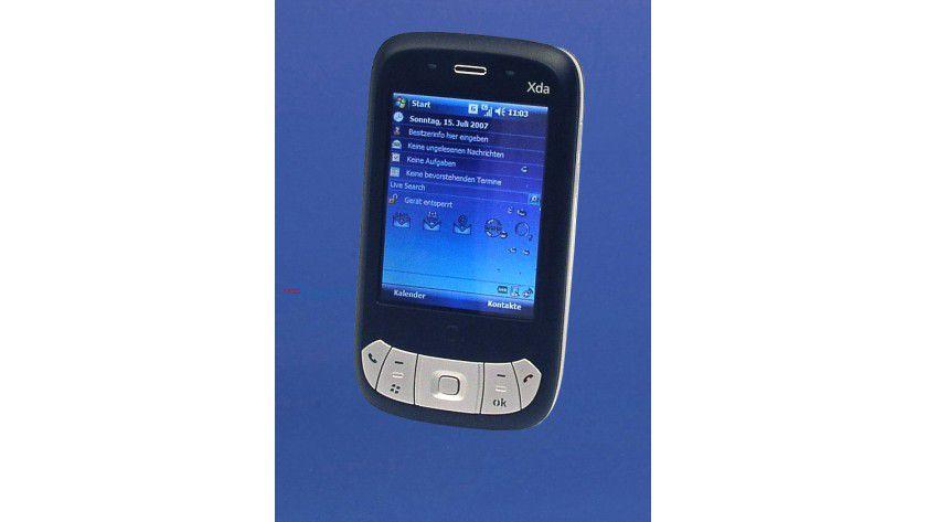 Bekannte Oberfläche: Windows Mobile 6 ähnelt Windows XP, Anwender finden sich schnell zurecht.