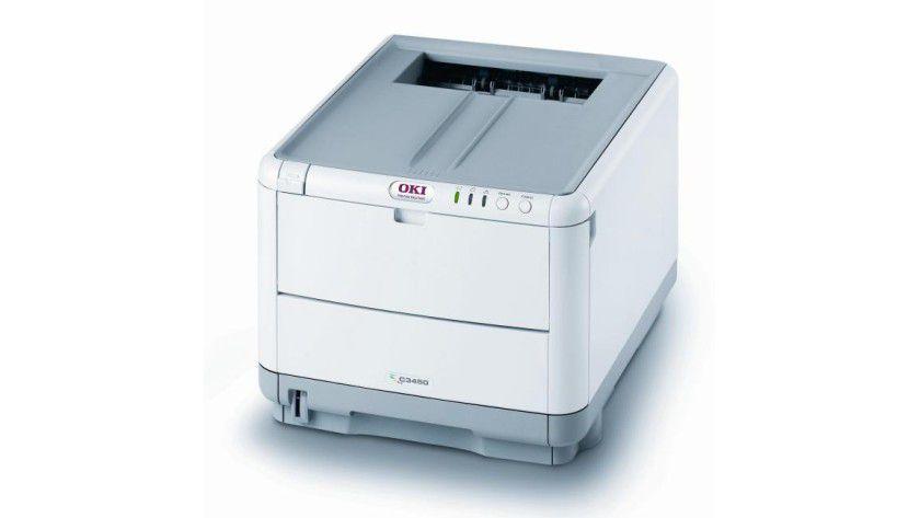 Oki C3450n: Der LED-Gruppendrucker arbeitet host-basiert in Windows- und Mac-Umgebungen. (Quelle: Oki)