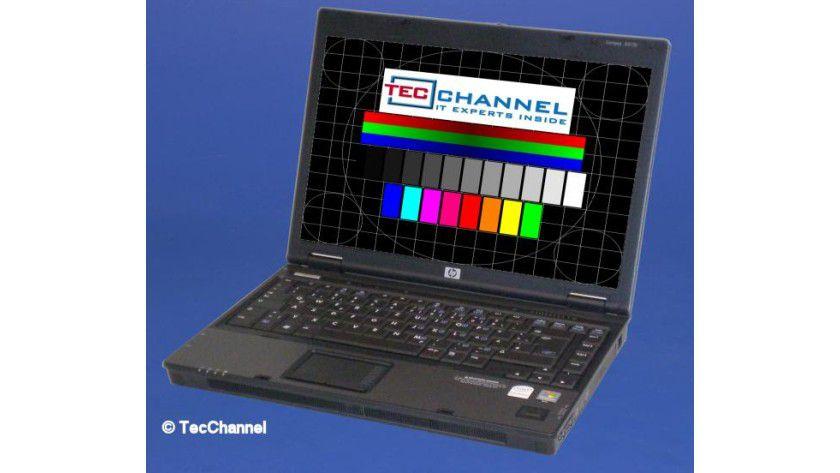 HP Compaq 6510b: Das 14,1-Zoll-Display arbeitet mit einer Auflösung von 1280 x 800 Bildpunkten.