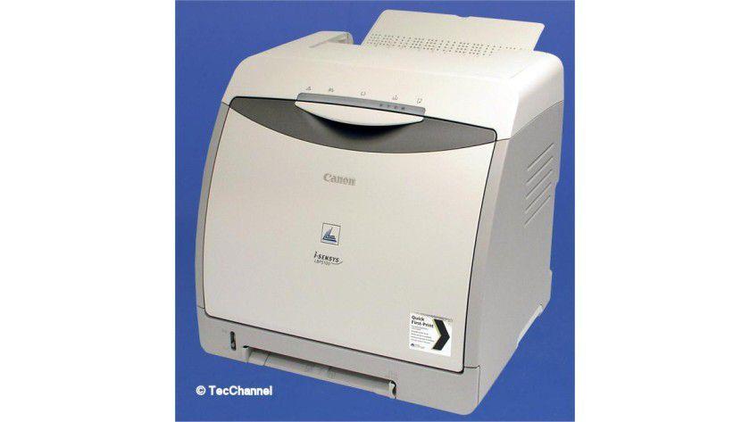 Canon LPB-5100: Der Farblaser ist serienmäßig mit einer Duplexeinheit ausgestattet.