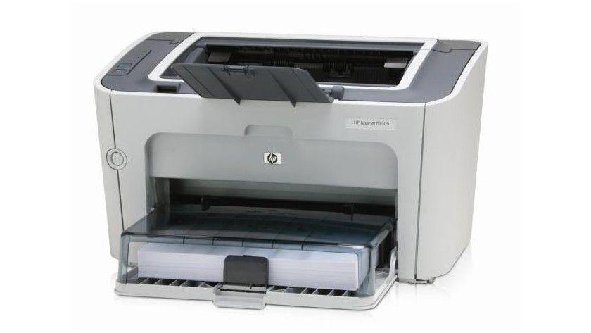 HP LaserJet P1505: Der monochrome Laserdrucker soll bis zu 24 Seiten pro Minute produzieren. (Quelle: Hewlett-Packard)