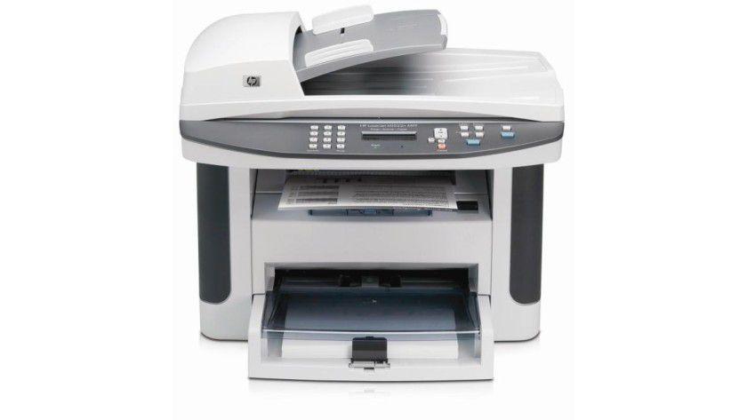 HP LaserJet M1522: Die monochromen Multifunktionsgeräte sind ab Werk netzwerkfähig. (Quelle: Hewlett-Packard)