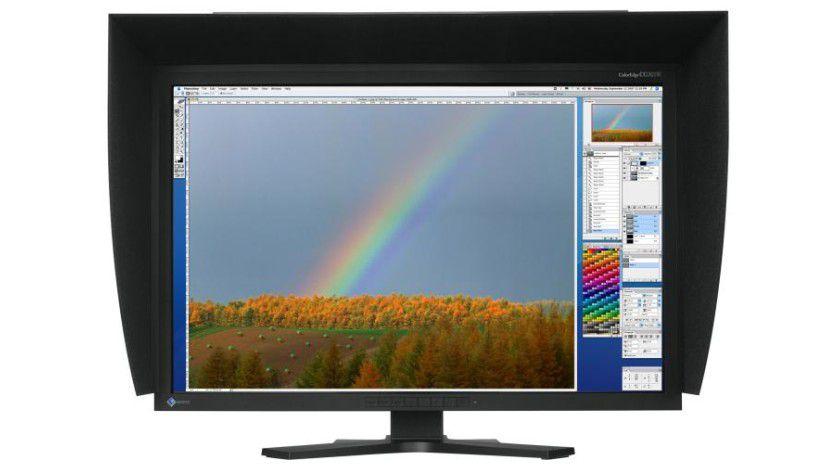 Eizo CG301W: Das 30-Zoll-Display arbeitet mit 2560 x 1600 Bildpunkten. (Quelle: Eizo)