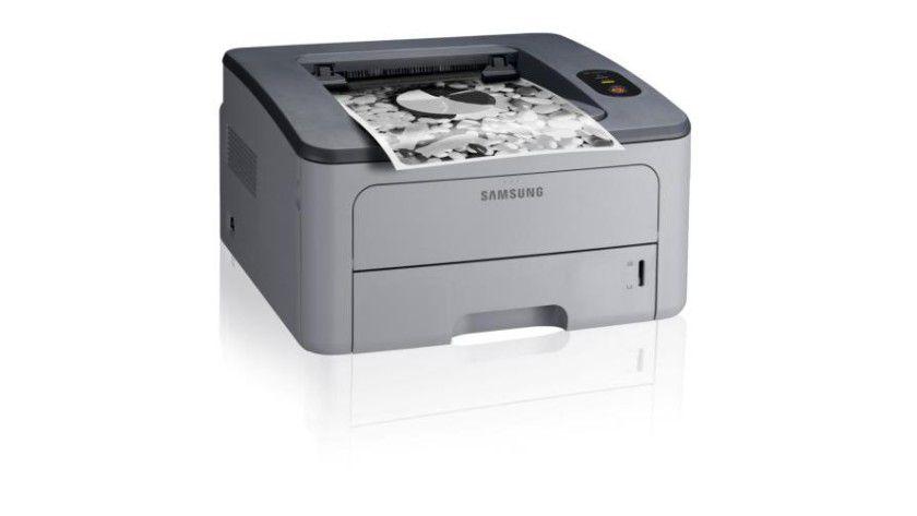 Samsung ML-2850D: Der kompakte Laserdrucker mit integrierter Duplex-Einheit soll 28 Seiten pro Minute produzieren. (Quelle: Samsung)