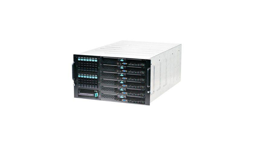 Blade Server: Je nach Anforderungen kann das System flexibel ausgebaut werden. (Quelle: CPI)