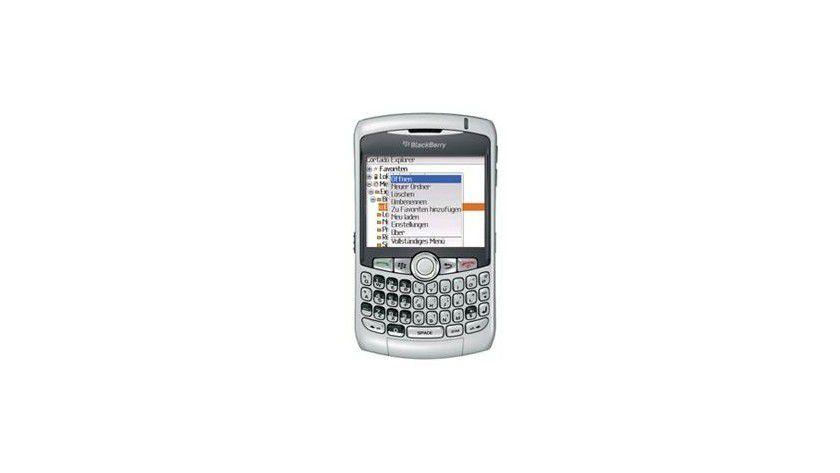 Corporate Server 3.6 für BlackBerry-Geräte. Foto: Cortado