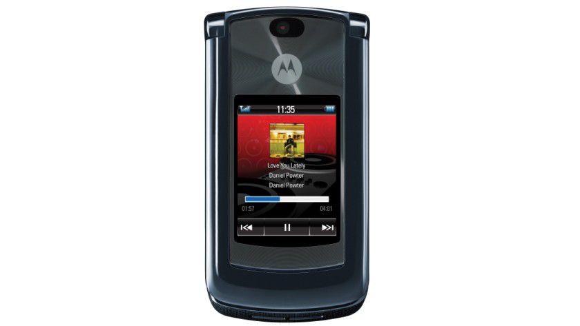 Ohne Google: Das RAZR2 V8 ist eins der Linux-basierten Mobiltelefone der LiMo-Foundation. (Quelle: Motorola)
