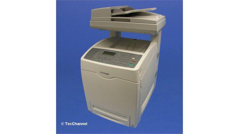 Lexmark X560dn: Bis zu 20 Farbseiten pro Minute soll das Multifunktionsgerät produzieren.