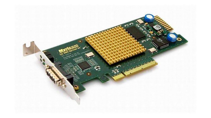 Die Netzwerkkarte Myri-10G. Foto: STORDIS